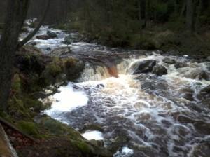 riviertje bij de herberg